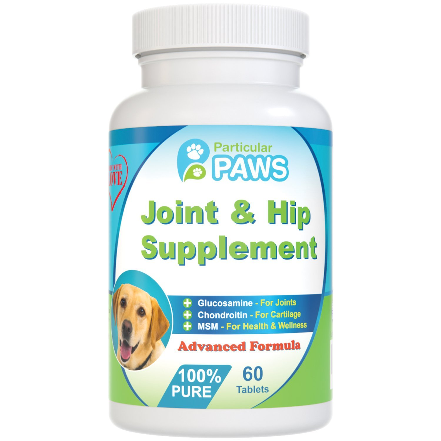 Particular Paws Glucosamine for Dogs Advanced