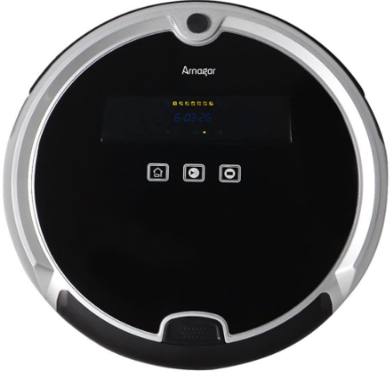 Robot Vacuum Cleaner Self-Docking with Drop-Sensing Clean for Pets and Allergies House