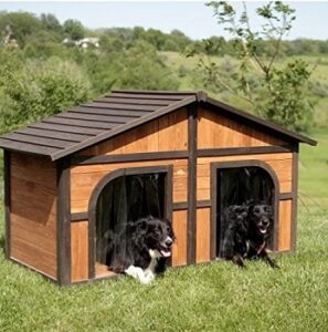 Extra-large-solid-wood-dog-house