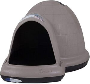 Petmate-indigo-igloo-dog-house